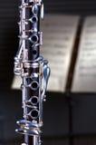 Clarinet Close Up Royalty Free Stock Photos