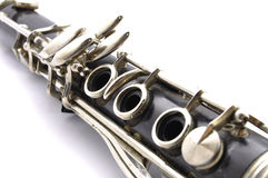 Clarinet detail Stock Photos