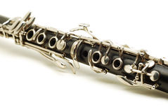 Clarinet detail Royalty Free Stock Photography