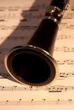 Clarinet horn Stock Photography