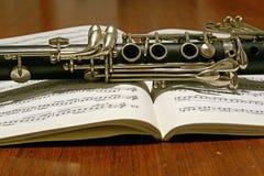 the clarinet Stock Photography