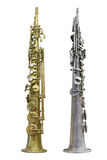 Clarinet. The image of a clarinet isolated under a white background Royalty Free Stock Photos