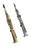 Clarinet. The image of a clarinet isolated under a white background Stock Photography