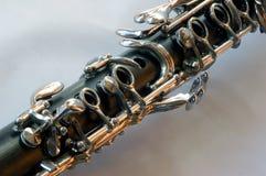 Clarinet Keys. Close up of some clarinet keys with narrow DOF Stock Image