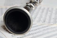 Clarinet. Royalty Free Stock Photos