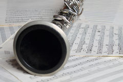 Clarinet. Royalty Free Stock Photo