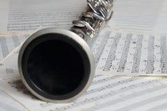 Clarinet. Royalty Free Stock Photo