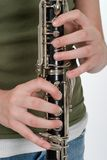Clarinet Performance Royalty Free Stock Image