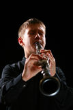 Clarinet player Stock Photography