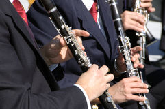 Clarinet players Royalty Free Stock Image