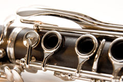 Clarinet-Verbindung stockbild