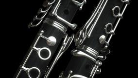 Clarinet Wiedergabe 3d stock abbildung