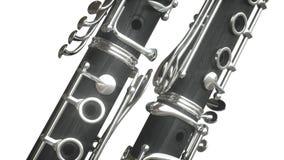Clarinet Wiedergabe 3d vektor abbildung