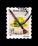 Clarineta - clarinette, serie d'instruments de musique, vers 2002 Photo stock