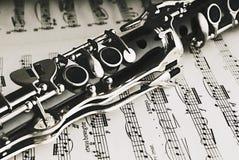 Clarinete Fotografía de archivo libre de regalías