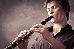 Clarinetist Fotografía de archivo
