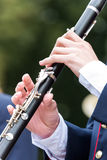 Clarinetist Stock Photography