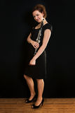 clarinetist piękne kobiety obrazy royalty free