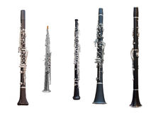 Clarinets Stock Photography