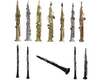 Clarinets Stock Photo