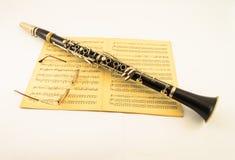 Clarinette Photographie stock libre de droits