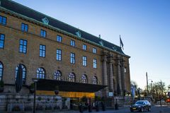 Clarion Hotel Post in Gothenburg stock image