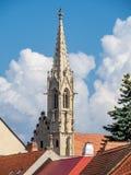 Clarissinekerk in Bratislava, Slowakije Stock Foto's