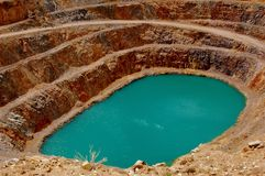 clark βουνό ορυχείων Στοκ εικόνα με δικαίωμα ελεύθερης χρήσης