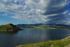Clark Canyon Reservoir, Montana Royalty Free Stock Image