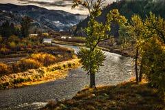 Clark Fork, Montana Royalty Free Stock Photos
