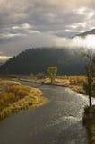 Clark Fork River, Montana Immagine Stock Libera da Diritti