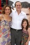 Clark Gregg, Jennifer Grey Stock Photos