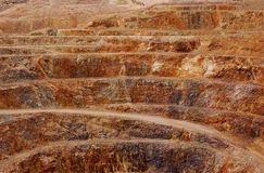 Clark Mountain Mine Stock Photography