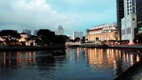 Clark Quay a Singapore Fotografie Stock