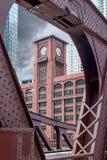 Clark Street Bridge Stockfotos