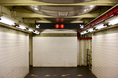 Clark Street Subway Station - Brooklyn, New York Arkivbild