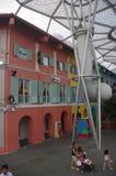 clarke码头河新加坡 免版税库存照片