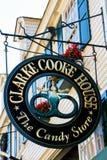 Clarke Cooke House Newport, RI. Royalty Free Stock Photo