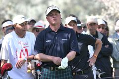 Clarke, golfe de aberto Madrid 2005 Foto de Stock Royalty Free