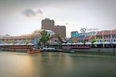 Clarke Quay Stock Images