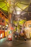 Clarke Quay Interior Singapore Royaltyfri Bild