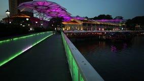Clarke Quay most zbiory