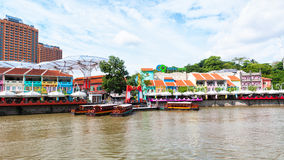 Clarke Quay Royalty Free Stock Photo