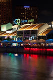 Clarke Quay portrait Royalty Free Stock Photography