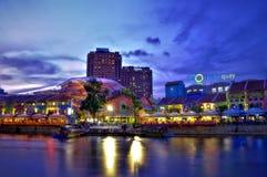 Clarke Quay, Singapore Royalty Free Stock Images