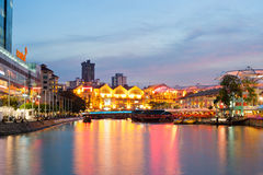 Clarke Quay - Singapore Royalty Free Stock Photos