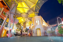 Clarke Quay - Singapore Royalty Free Stock Photo