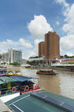 Clarke quay in Singapore Royalty Free Stock Photography