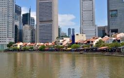 Clarke quay, Singapore Stock Photos