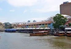 Clarke quay, Singapore Stock Photo